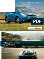 My13 Forester Brochure