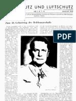 Gasschutz und Luftschutz 13.Jahrgang 1943 / Zeitschrift für das gesamte Gebiet des Gas- und Luftschutzes der Zivilbevölkerung