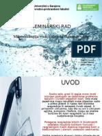Mikrobiologija Vode i Obrada Otpadnih Voda