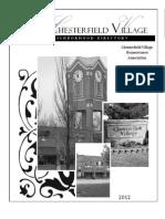 Neighborhood Directory 2012
