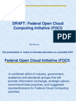 Federal Open Cloud Computing Initiative (FOCI)