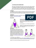 Kundalini Exercises