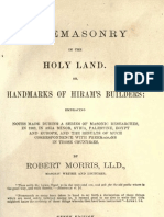 Freemasonry in the Holy Land - r Morris