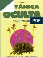 Botánica Oculta. Basado En Las Teorías De Paracelso