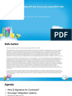 Salesforce Dreamforce 2012 - Docusign Apex REST API Integeration