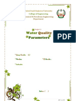 Water Quality Project