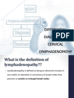 Differential Diagnosis of Cervical Lymphadenopathy