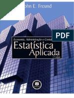 Estatística Aplicada Economia, Administração e Contabilidade - John E. Freund Blog - conhecimentovaleouro.blogspot.com by @viniciusf666