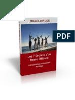 Les 7 Secrets d'un Repos Efficace v1.0
