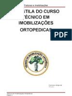 Apostila Do Curso Tecnico Em Imobilizacoes Ortopedicas Imobilizcoes e Fraturas
