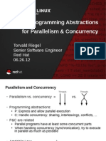C/C++ Programming Abstractions for Parallelism and Concurrency