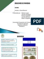 Denominaciones de Monedas