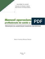 Manual Operacional Profissionais Saude Educacao