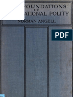 Angell the Foundations of International Polity 1914[1]