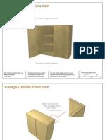 Free Garage Cabinet Plan