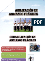 Rehabilitacion en Ancianos Fragiles