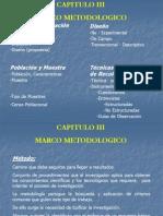 14859717 Capitulo III Marco Metodologico