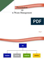 e Waste Management Pp t
