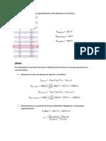Determinación de la capacidad térmica del calorímetro