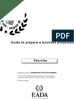 Guide to Prepare a Business Presentation