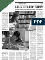 Meritocrazie Blindate e FADE in ITALY