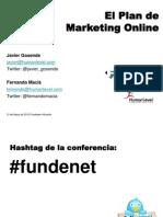 EL Plan de Marketing Online un caso práctico