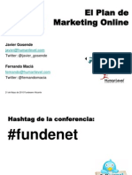 EL Plan de Marketing Online un caso práctico