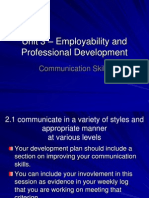 Communication Skills2012