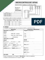 Activites Microcontroleur 16f84a