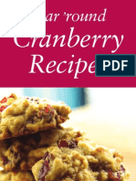 2011 Cranberry Recipe Brochure