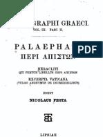 Mythographi Graeci vol. 3.2