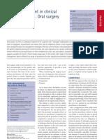 Risk Management Oral Surgery