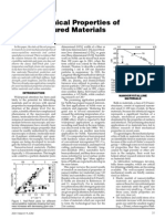 The Mechanical Properties of Nanostructured Materials