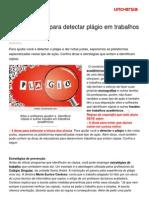 8 Ferramentas Detectar Plagio Em Trabalhos Academicos