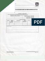 Procedimiento de Recepcion de Mercaderias en CD SAP R6.0