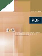 시베리안마이닝그룹 재정보고서 2009