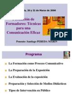 FORMACIÓN DE FORMADORES DOCUMENTACION