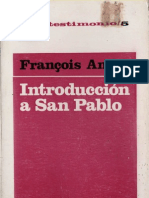 Amiot_ Francois - Introduccion a San Pablo