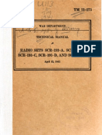 TM 11-273 - Radio Sets SCR-193-(x), 1941