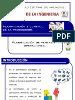 Planificación de ventas y operaciones.