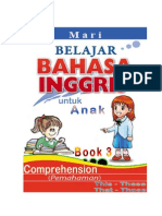 Belajar Bahasa Inggris, Comprehension, This-These, That-Those, Book 3 dan Kunci Jawaban-KEY