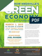 2013 Forum Flyer