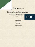 Venerable Mahāsī Sayādaw - Dependent Origination.pdf