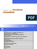 ABAP Training for Functional Consultants 60
