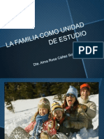 La Familia Como Unidad de Estudio