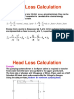 Head Loss Examp