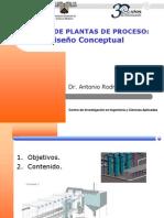 Sesion Teoria 02 - Diseño Conceptual - Diseño de plantas