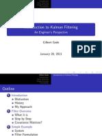 Kalman Filter Presentation