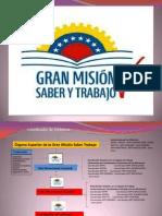 Presentación1 MISIÓN SABER Y TRABAJO