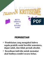 KRITISISME.ppt